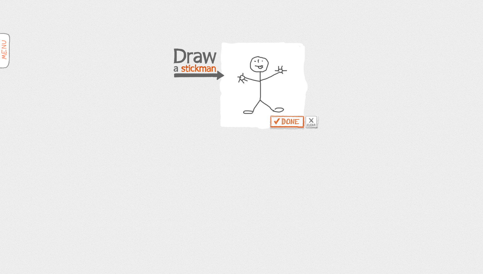 draw a stick man
